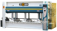 100t prensa caliente para la puerta jy3848ax100 con tres capas