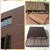 waterproof wood plasitc composite garden house wood for building decoration