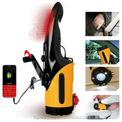 multi-function 7 in 1 auto emergency tool kit flashlight hand power lighting