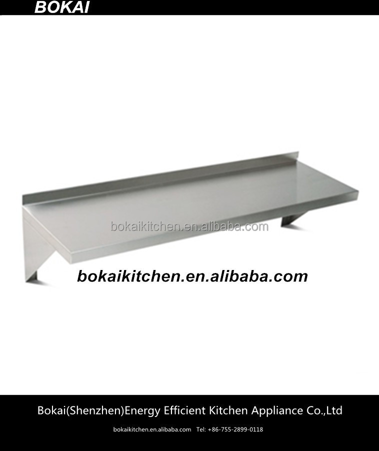 Stainless Steel Kitchen Wall Mounted Shelfwall Mounted