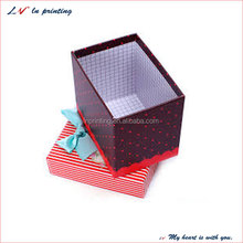 Newfashioned Colourful valentine's gift box for valentines promotion