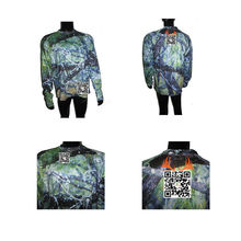 High Quality Anti-UV, Anti Bacterial Long Sleeve All Over Polyester Custom Sublimation Printing T-shirt