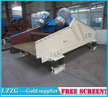 Linear Vibrating Screen for classifiting the different sizes