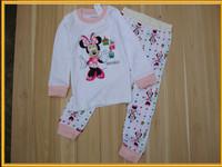 100% New cotton baby sleepwear pajamas wholesale pajamas night shirts