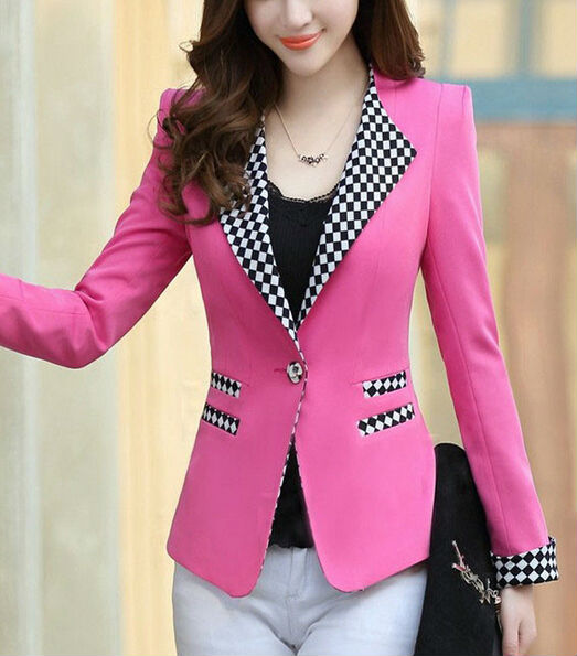 pictures of ladies suits designs jackets pink view