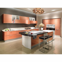 High gloss lacquer kitchen cabinet with blum hardware