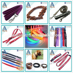 Swivel carbin hook nylon material pet products pet leash supplies