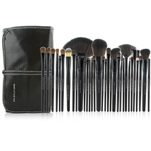 Popular 32pcs Personalized Cosmetic Makeup Brush Set Kit with Black Pouch