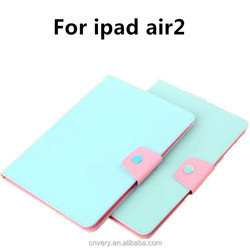 Tablets cases for ipad air 2 Fashion apple ipad air 2 case Wallet Transparent Frame 9.7 inch tablet cover
