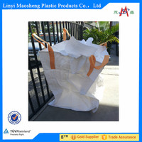 white bag 950*950*1100mm 1 ton container bag
