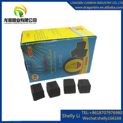 coconut charcoal powder material long burning time coco hookah coal