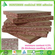 China manufacturer wholesale cheap 18MM no-added formaldehyde healthy eco-friendly plain particle board