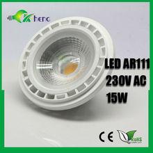 high quality cob dimmable gu10 led AR111,12v g53 led lamp g53 gu10 led cob ar111 g53 dimmable es111 led
