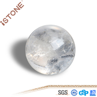 wholesale High Quality Small Natural Rock Clear Quartz Crystal Ball For gift