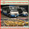 the most popular Chinese commuter bus replacing the Nigerian old bus