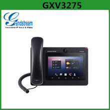 Grandstream GXV3275 6 lines multimedia IP wifi phone with touch screen HD IP phone