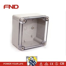 NEW Clear Cover Screws ABS Junction Box Enclosure 125*125*75