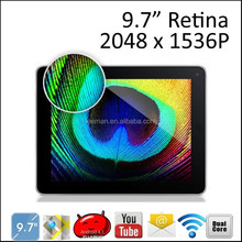 Leeman WZ9720 2014 New Hot 9.7 Inch Touch Screen A20 Android Tablet Without Camera PC with Hot Sex Vedio