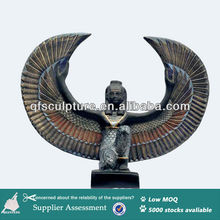 Large Bronze Abstract Eagle Sculpture