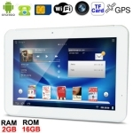 10.1 inch IPS Capacitive Touch Screen Android 4.0 3G Mobile Phone Function Tablet PC with GPS + Bluetooth, Built-in 3G Module, D