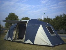 Family camping 5 person tent waterproof windproof tent camping big