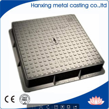 Economicallly Hot Selling Anti-Corrosion Ductile Iron Footways Rectangular solid top manhole cover