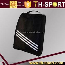 Black Standard Polyester Golf Shoe Bag