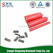 Good Quality reinforced concrete diamond core drill bit segment
