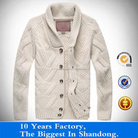 new fancy luxry jacquard wool sweater for men thick cardigan