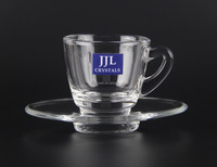 JJL CRYSTAL MUG JJL-59 & JJL-259 TEA CUP COFFEE CUP DRINKWARE DRINKING GLASS TABLEWARE KITCHENWARE WHISKY WINE HIGH QUALITY
