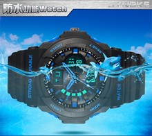 zly526 Multifunction LED Boy's/Men's Sports Dual Display Electronic Wrist Watches Watch Multifunction watch