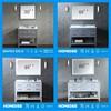 Homedee wholesale bathroom vanity cabinet new design with sliding door