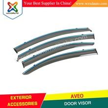 AVEO wind deflector/ sun shield/ window visor for CHEVROLET AVEO SEDAN 2011+ auto accessories