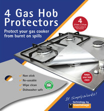 Belling Stoves Hotpoint Gas Hob Protector 27x27cm, set of 4 - Keep your hob clean