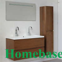 MFC coverd bathroom vanities cabinet, bathroom furniture set