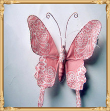 beautiful custom butterfly shaped hanging paper car air freshener