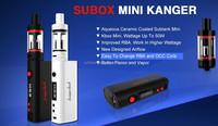 Aerotank Mow Atomizer + e cigarette subtank mini = kanger kbox 40w/subox mini starter kit