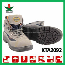 New style CE inductrial nubuck leather fiber safety shoes