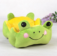 Cheap Dog Houses Luxury Cartoon Frog Pet Beds House For Dog Puppy Cat