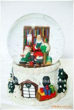 resin crystal ball christmas gift