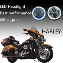7inch led motorcycle headlight for Harley