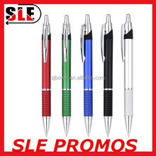 beautiful metal design plastic ball pen