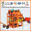 Good vibro block making machine/QTJ4-28 wall hollow block machine/block machine offers