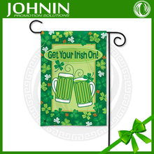 Get Your Irish On Green Green Decorate Promotion Garden Flag