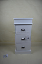 Pure White Color Wholesale Wooden Drawers Cheap Tall Wood Storage Cabinet