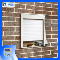 Indoor Manual Control Metal or Aluminum Roll Up Shutters