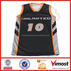 custom professional basketball jersey basketball tops with polyester basketball wear