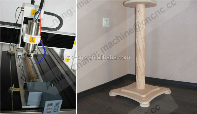 Small CNC Router For Wood Metal Stone NcStudio or DSP Offline or Mach3 Control ZK-6090 600*900mm