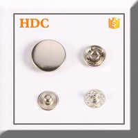 custom round snap on buttons for coat