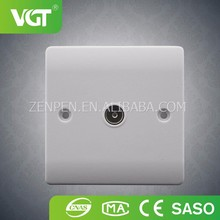 China Alibaba Supplier New Style Factory Directly Provide Wall TV Socket